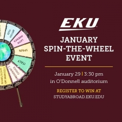 Spin the Wheel Event