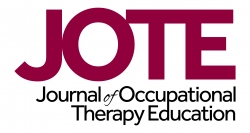 JOTE: Journal of Occupational Therapy Education
