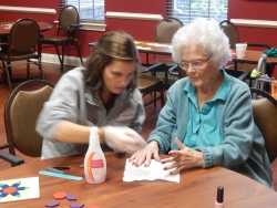 Eastern Kentucky University Students Study With Morning Pointe Seniors