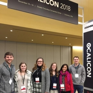 Autism Certificate students at OCALICON 2017