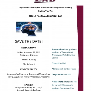 2019 Research Day Save the Date