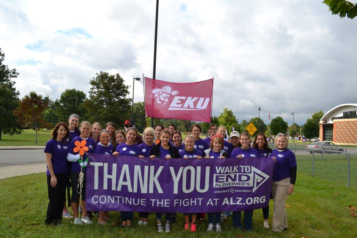 Group Pic at the Walk to End Alzheimer's